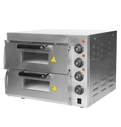 Caterchef Pizza-Ofen SS | 50 ° C-350 ° C | 3000W | 560x560x (H) 440mm