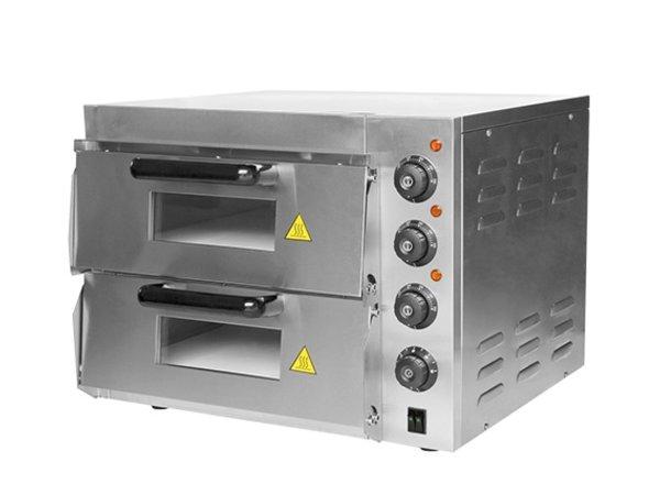 Caterchef Pizza-Ofen SS | 50 ° C-350 ° C | 3000W | 560x560x (H) 440mm