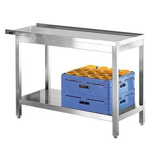 Modular On / Entsorgung Tabelle Edelstahl | 800mm