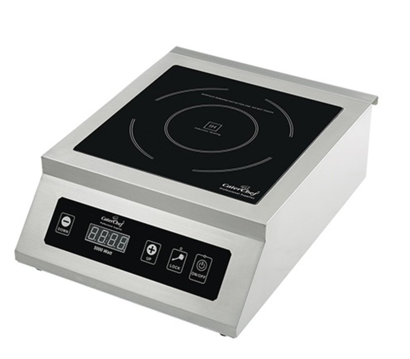 Caterchef Industrial kitchen Induction Cooker Stainless Steel | 5000W | 530x400x (H) 200mm
