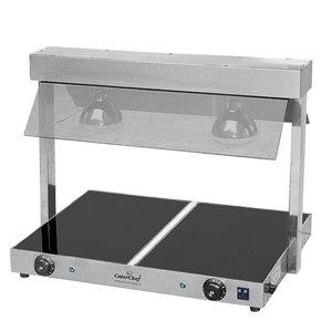 Caterchef Kochplatte mit Brücke | Einstellbar bis 85 ° C | 2x 1 / 1GN