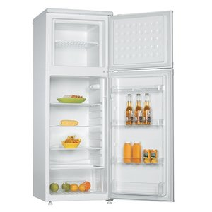 XXLselect Fridge / Freezer White | 550x600x (H) 1450mm | 170 + 45 Liter