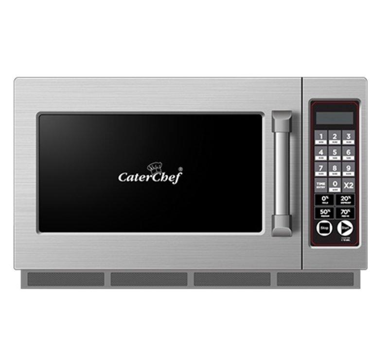 Caterchef Magnetron CaterChef RVS | 10 Kookprogramma's | 34 Liter