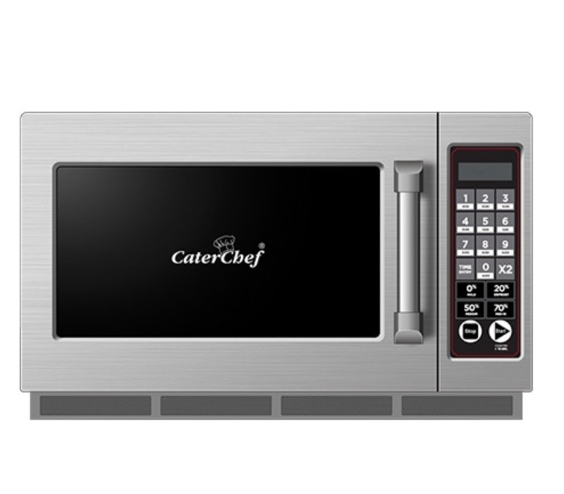 Caterchef Mikrowelle CaterChef SS | 10 Kochprogramme | 34 Liter