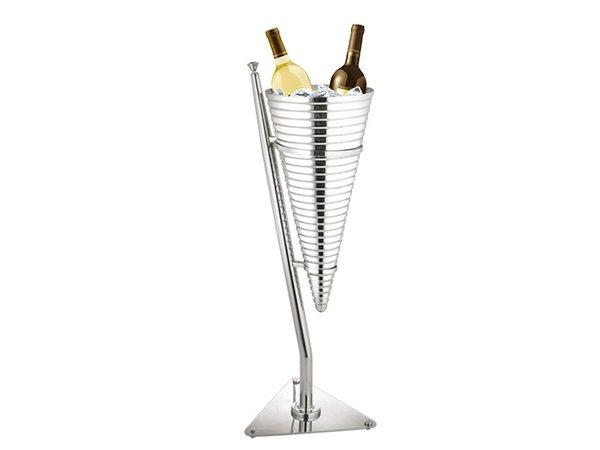 XXLselect Wijnkoeler DeLuxe-Duo | Dubbelwandig RVS 18/10 | Ø320x(H)890mm