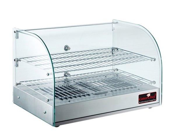 Caterchef Warming Showcase SS | + 30 ° / + 90 ° C | 800W | 560x380x (H) 380mm