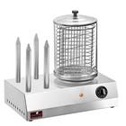 Caterchef Hot Dog / Wurstwärmer | Edelstahlgehäuse mit Glasbehälter | 420x270x (H) 400mm