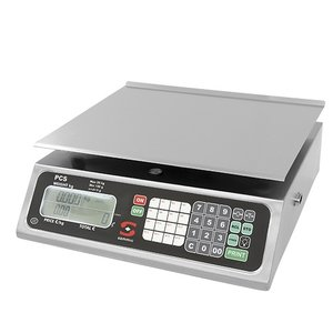 XXLselect Electronic Scale | Stainless Plateau | 20kg / 02gr | 330x350x (H) 150mm