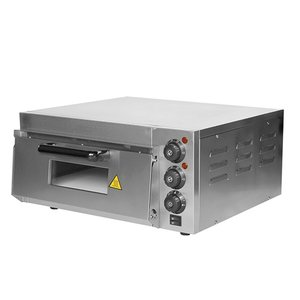 Caterchef Pizza Oven SS | 50 ° C-350 ° C | 2000W | 560x560x (H) 280mm