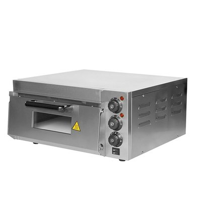 Caterchef Pizza Oven RVS | 50°C-350°C | 2000W | 560x560x(H)280mm