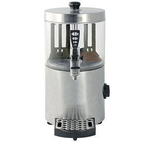 XXLselect Chocolate dispenser Stainless steel | for Hot Chocolate Milk | with drain valve + Drip | 3 Liter