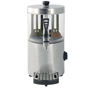 XXLselect Schokoladenspender Edelstahl | für Hot Chocolate Milk | mit Ablassventil + Drip | 3 Liter