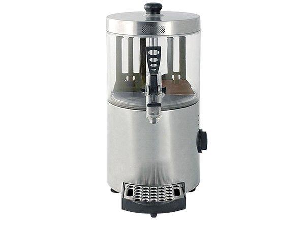 XXLselect Chocolademelk Dispenser RVS | voor Warme Chocomel | met Aftapkraan + Lekbakje |3 Liter