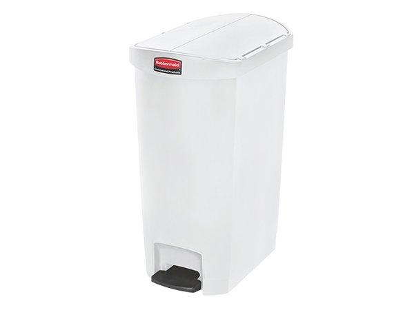 Rubbermaid Treteimer Plastik Weiß | Leck Bau | 560x370x (H) 780mm | 68 Liter