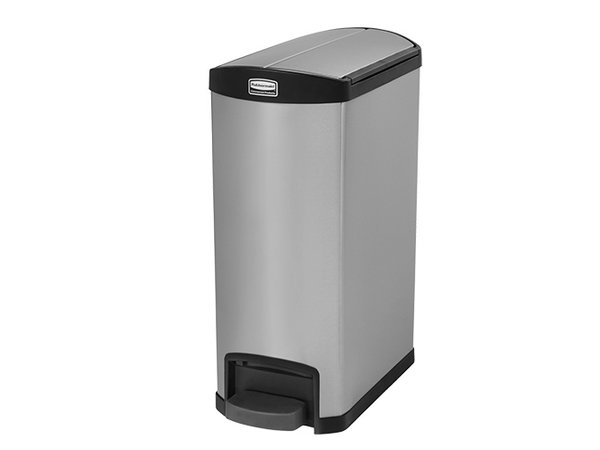 Rubbermaid Pedal Bin Stainless Steel | Leak Fixed Construction | 550x260x (H) 590mm | 30 liter