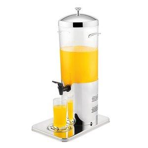 XXLselect Getränkespender Edelstahl | Elektrisch Kühl | mit Ablassventil | 5 Liter