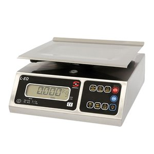 XXLselect Electronic Scale | Stainless Plateau | 08kg / 02gr | 250x250x (H) 130mm