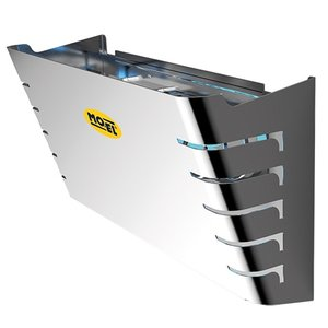XXLselect Insectenverdelger RVS | Afgeschermd Design | 50 m² Werkbereik | 400x170x(H)270mm