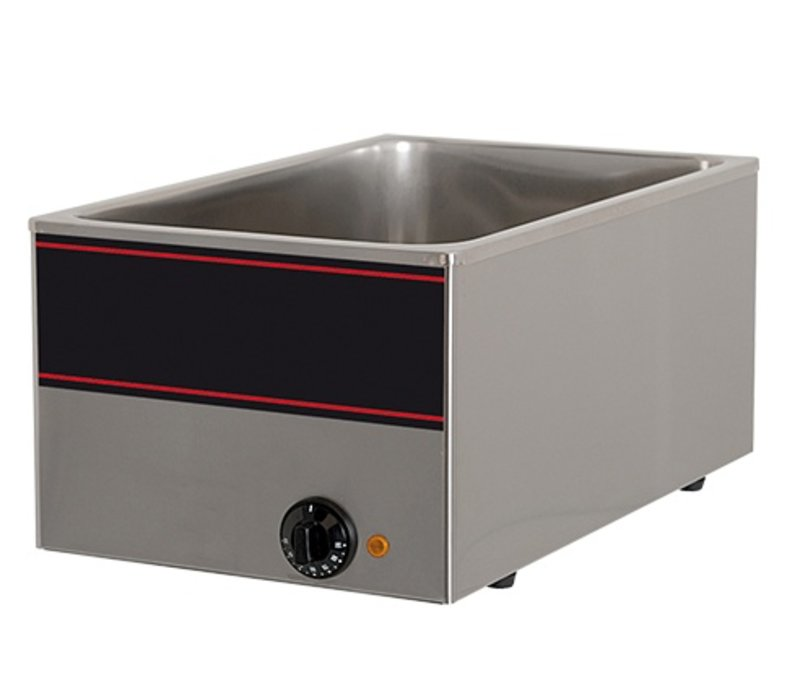 XXLselect Bain Marie Neutral SS | 1/1 GN | 1000watt | 540x340x (H) 230mm