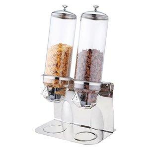 XXLselect Muesli Dispenser RVS | 360x240x(H)600mm | 2x 4 Liter