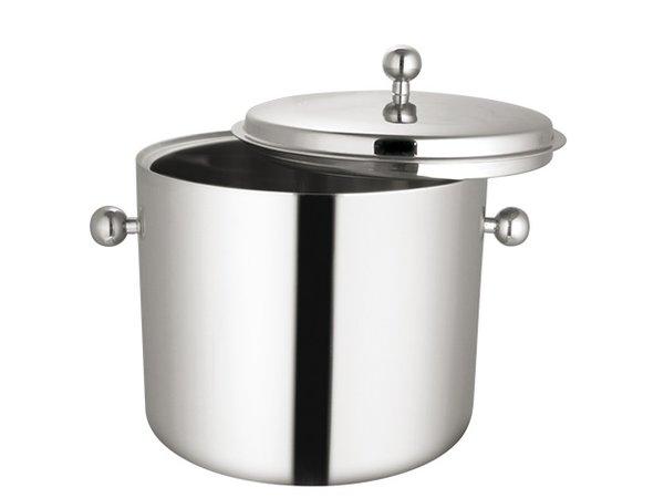 XXLselect Luxury Ice Bucket 18/10 stainless steel | Double walled | Ø310x (H) 270mm | 8 liter