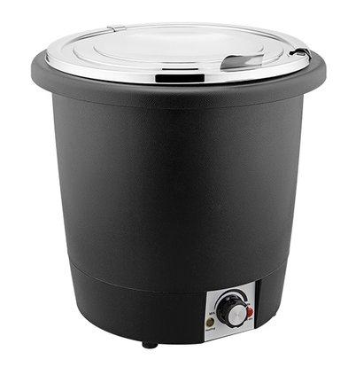 XXLselect Suppenkessel Wärme aus Kunststoff | Edelstahl Innentopf | Ø330x (H) 320mm | 10 Liter