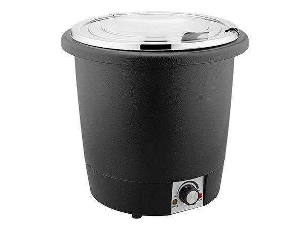 XXLselect Suppenkessel Wärme aus Kunststoff   Edelstahl Innentopf   Ø330x (H) 320mm   10 Liter