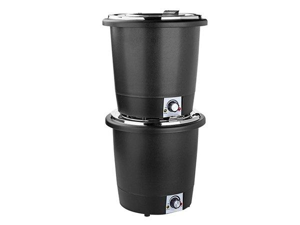 XXLselect Soepketel Hittebestendig Kunststof | RVS Binnenpot | Ø330x(H)320mm | 10 Liter