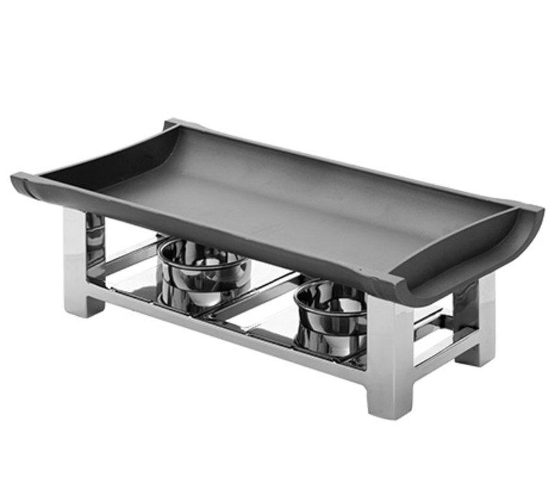 XXLselect Snack/Serveerwarmer RVS 18/10 | 380x190x(H)120mm