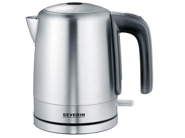 XXLselect Stainless steel kettle | Heat resistant handle | 190x140x (H) 210mm | 1 Litre