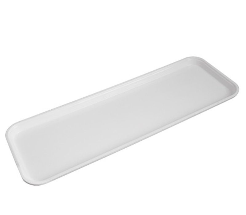 XXLselect Serve Plateau White | Fiberglass Reinforced | 645x230x (H) 10mm
