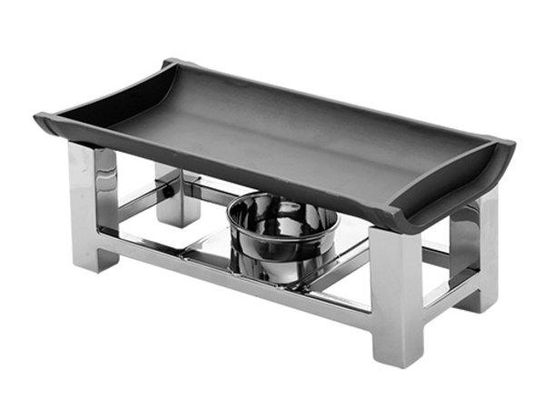 XXLselect Snack / Serve Warmer 18/10 stainless steel | 300x150x (H) 120mm