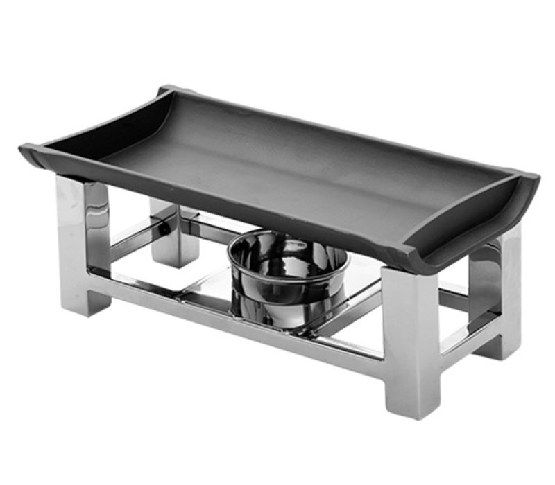 XXLselect Snack / Serve-Wärmer aus Edelstahl 18/10 | 300x150x (H) 120mm
