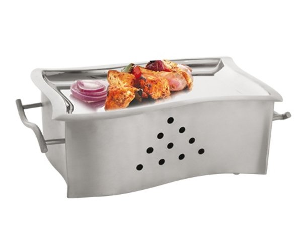 XXLselect snack / serving warmer SS 18/10 | 310x180x (H) 100mm