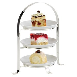 XXLselect Etagere / Serve Standard Chromed | (H) 430mm