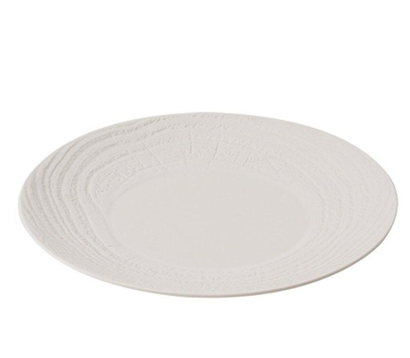 XXLselect Sign Round Ivoire High Porcelain   Ø310mm