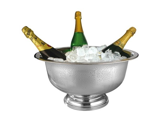 XXLselect Champagne Bowl 18/10 stainless steel | Ø420x (H) 220mm
