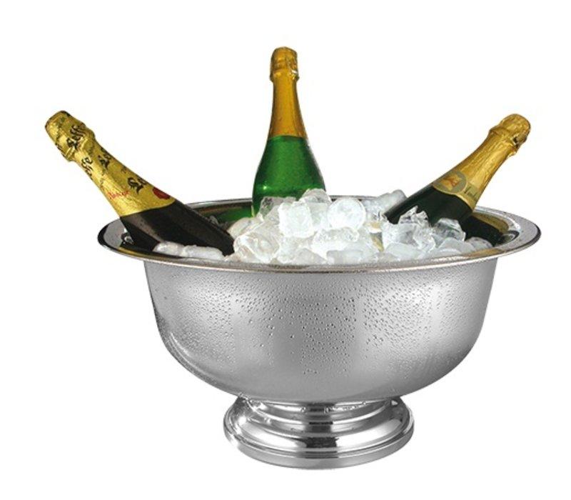 XXLselect Champagne-Schüssel aus Edelstahl 18/10 | Ø420x (H) 220mm
