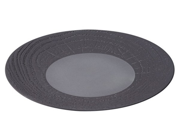 XXLselect Sign Round Reglisse High Porcelain | Ø280mm