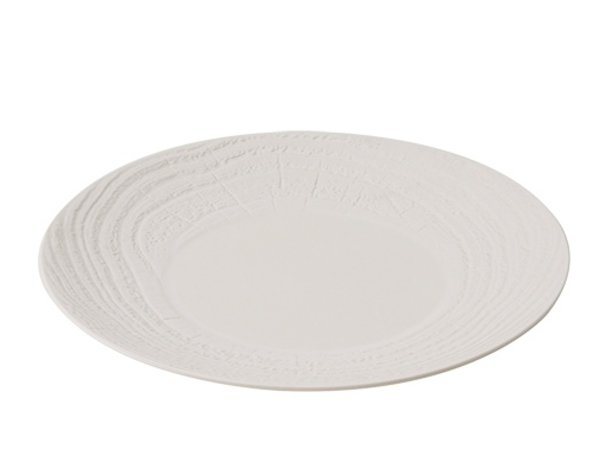 XXLselect Sign Round Ivoire High Porcelain   Ø280mm
