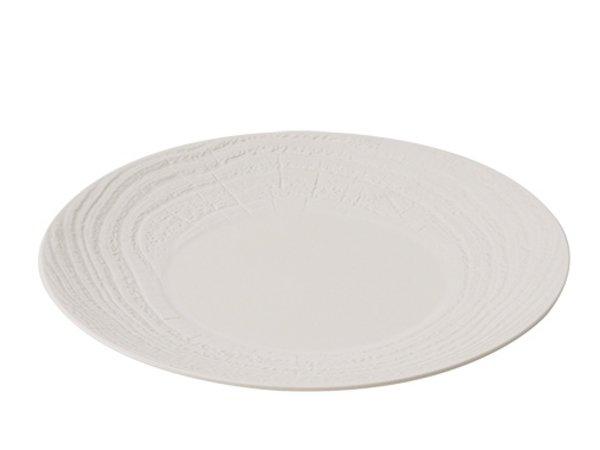XXLselect Zeichen Runde Ivoire Hohes Porzellan | Ø265mm