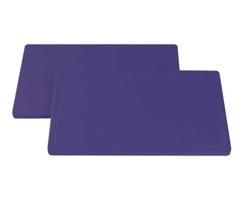 XXLselect Snijblad Paars Geul | Anti allergeen | 600x350x(H)20mm