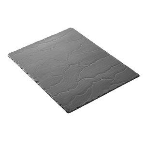 XXLselect Plateau Basalt Porzellan | Schauen Schiefer | 540x170x (H) 7mm