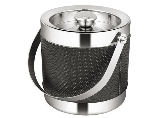 XXLselect Premium-Eis-Wanne aus Edelstahl 18/10 | Doppelwandig | Ø160x (H) 160mm | 2 Liter