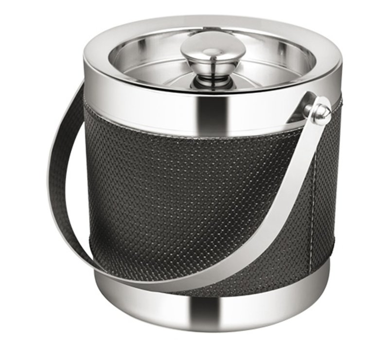 XXLselect Premium Ice Bucket 18/10 stainless steel | Double walled | Ø160x (H) 160mm | 2 liter