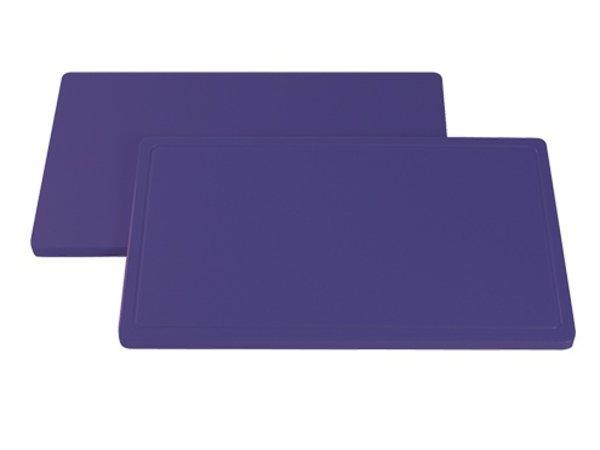 XXLselect Blatt Lila Trench | hypoallergen | 530x325x (H) 20 mm