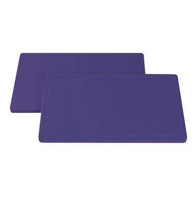 Caterchef Blade Purple Smooth | Hypoallergenic | 530x325x (H) 20mm