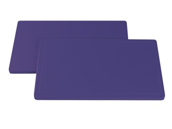 Caterchef Blade Purple Smooth   Hypoallergenic   530x325x (H) 20mm