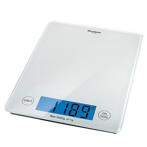 XXLselect Electronic Scale | Plastic Housing | 05kg / 01gr | 230x180x (H) 20mm