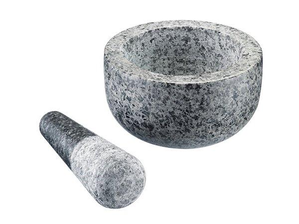 XXLselect vijzel graniet | Ø130x(h)70mm